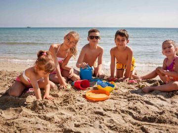 Animazione in spiaggia bambini