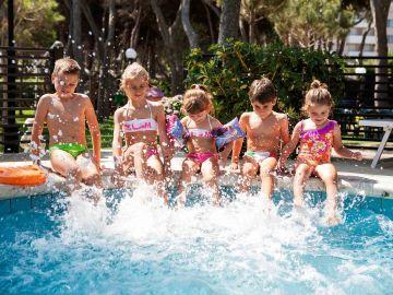 Giochi in piscina Hotel Promenade