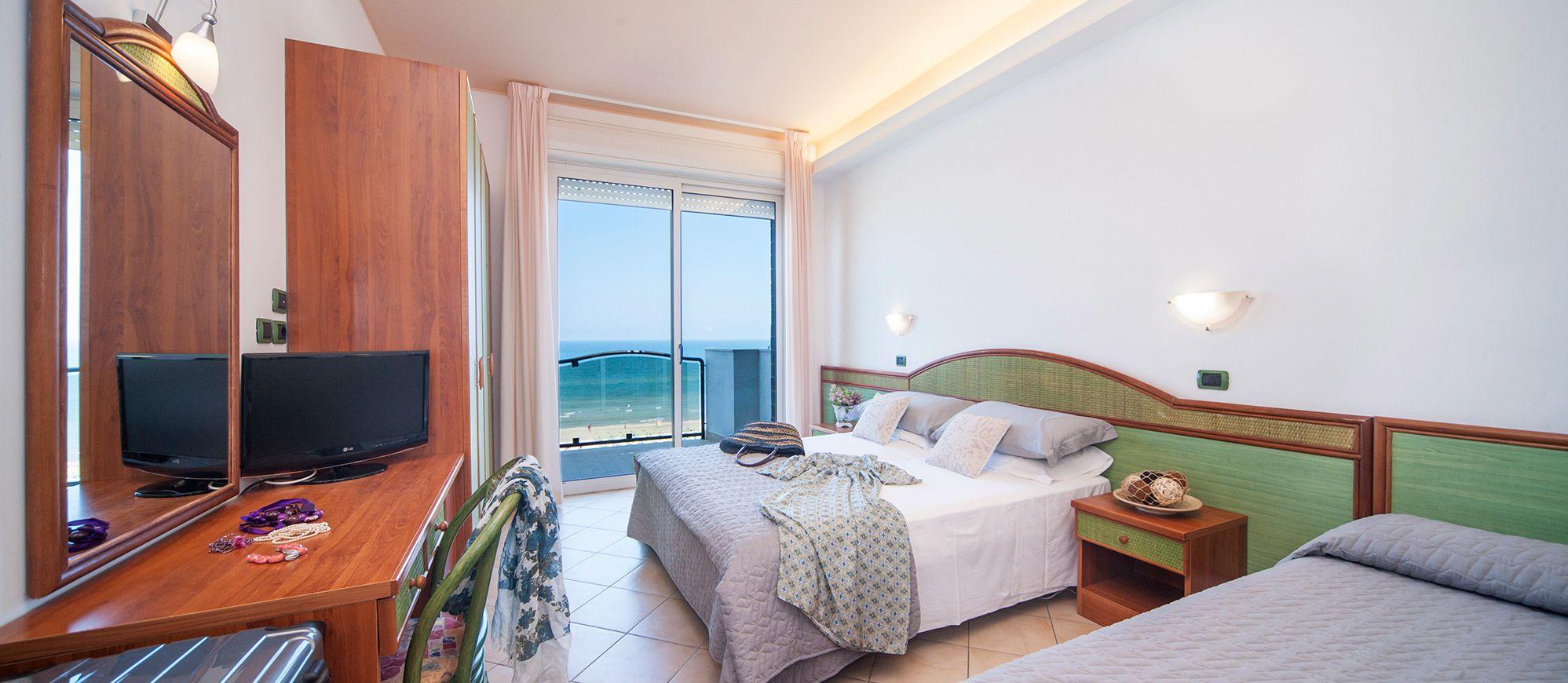 Zimmer Meerblick Familenurlaub Abruzzen | Hotel Promenade